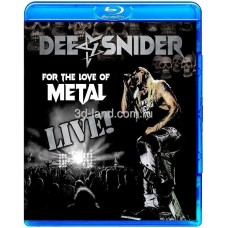 Dee Snider: For The Love Of Metal - Live! (2020)