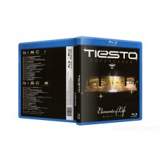 Tiesto: Copenhagen/Elements of Life (2 диска) (25гб)(Blu-Ray)